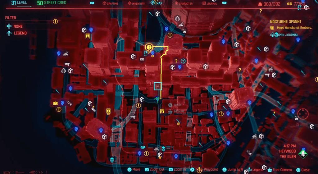 Cyberpunk 2077 Skill Shard Location 25.png