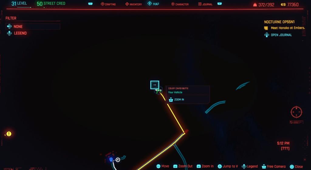 Cyberpunk 2077 Skill Shard Location 26.png
