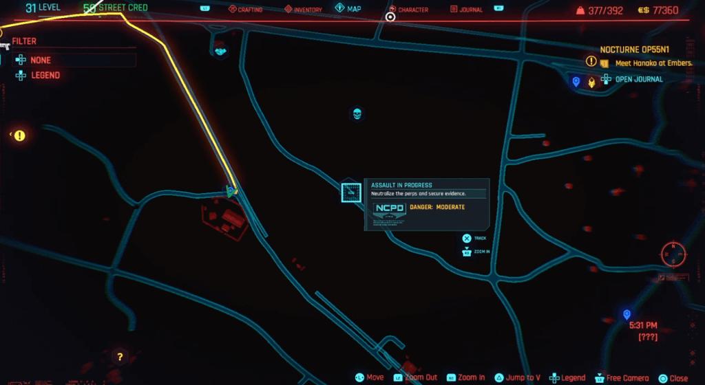 Cyberpunk 2077 Skill Shard Location 27.png