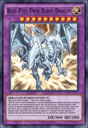 Blue-Eyes Twin Burst Dragon