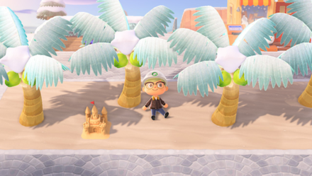 ACNH - Palm Trees on Sand Path.png