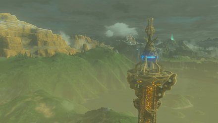 BotW - Tower Map and All Tower Locations