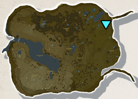 BoTW - Great Plateau Tower Location