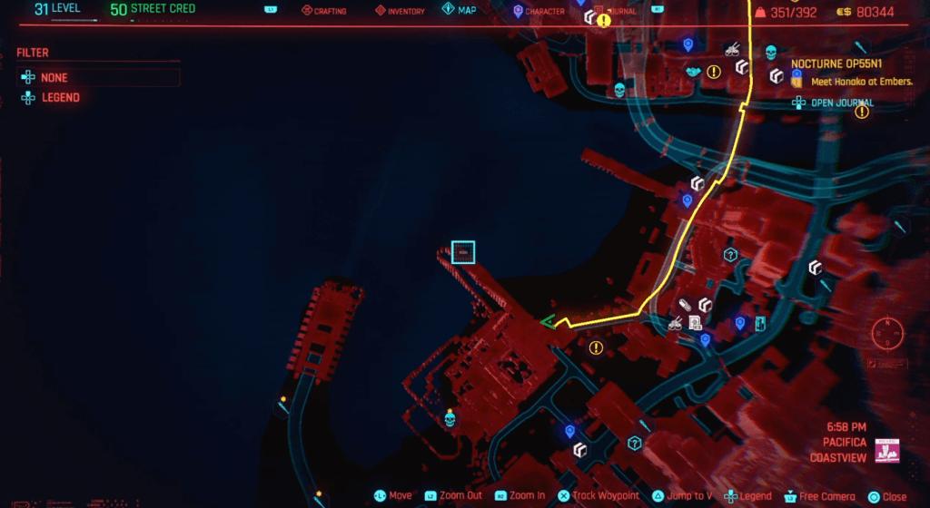 Cyberpunk 2077 Skill Shard Location 29.png