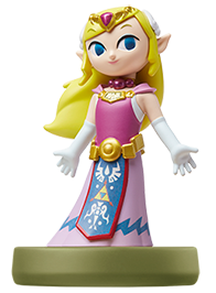 The Wind Waker Zelda amiibo Icon
