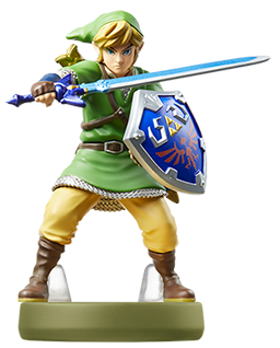 Skyward Sword Link amiibo Icon