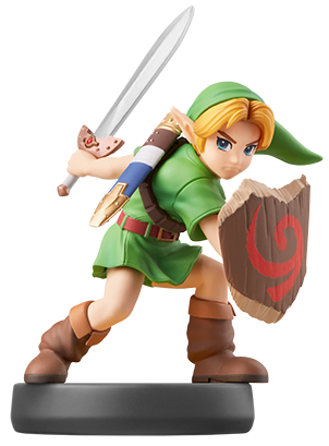 Young Link amiibo Icon