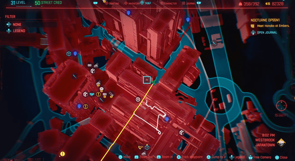Cyberpunk 2077 Skill Shard Location 31.png