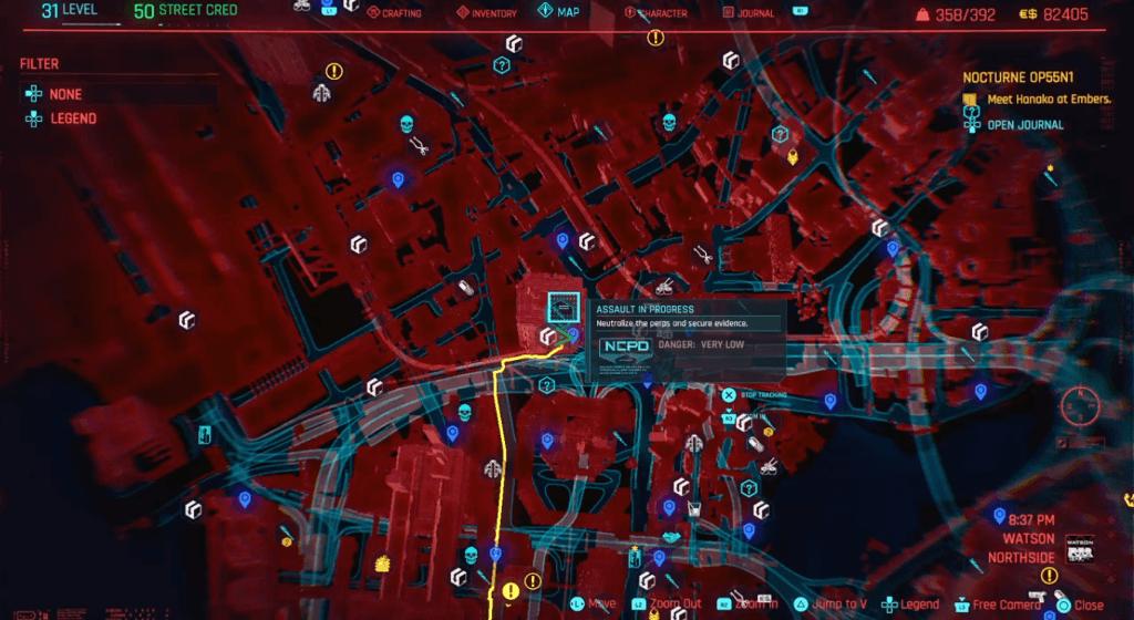 Cyberpunk 2077 Skill Shard Location 32.png