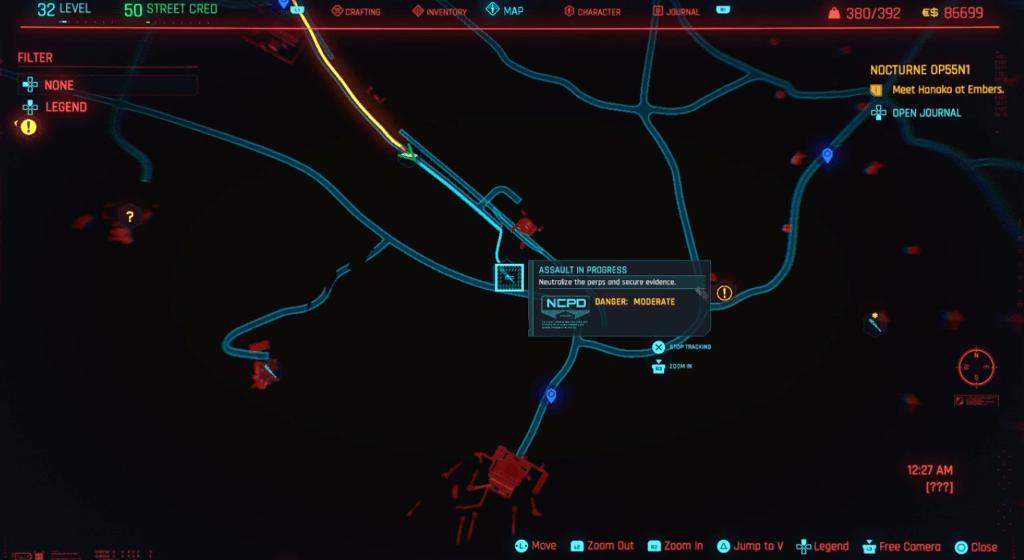 Cyberpunk 2077 Skill Shard Location 36.png
