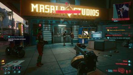 Cyberpunk 2077 - Assaults in Progress