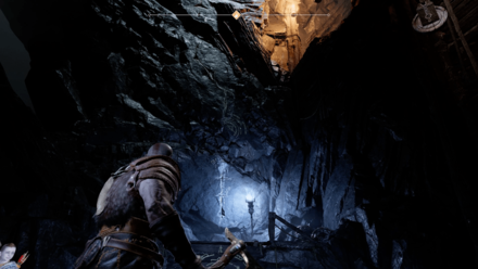 GoW Inside the Mountain - Climb the Cave Wall.png