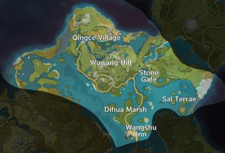 Bishui Plain Map.png