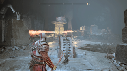 GoW Inside the Mountain - Bring the Flaming Pillar down.png