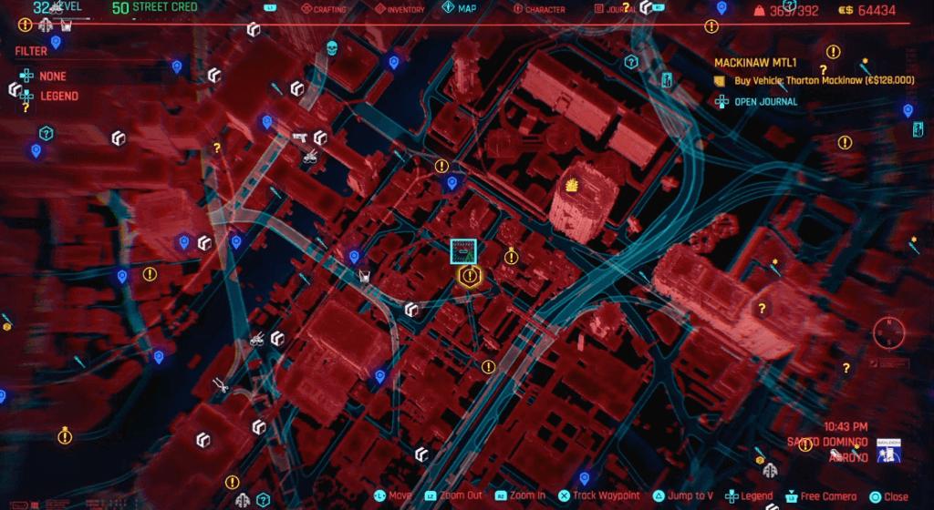Cyberpunk 2077 Skill Shard Location 40.png