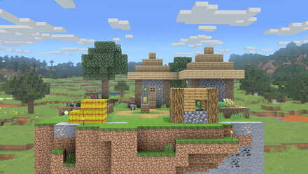Minecraft World Stage