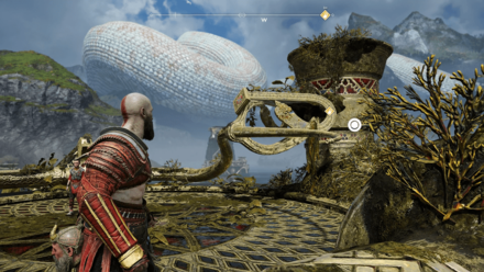 GoW A New Destination - Interact with the Horn.png