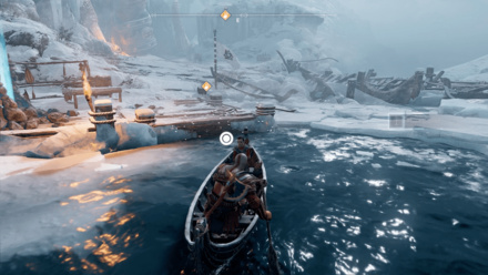 GoW The Magic Chisel - Dock with the Frozen Shore.png