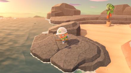 ACNH - Cannot modify beach rocks.png