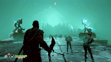 GoW The Sickness - Continue along the Bridge.png