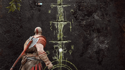 GoW - Wall with Yellow Marks