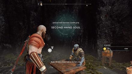 GoW - Second Hand Soul Favor Walkthrough