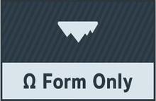 Ω Form Only