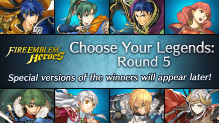 Choose Your Legends 5 CYL5 Event Picture Fire Emblem Heroes FEH.png