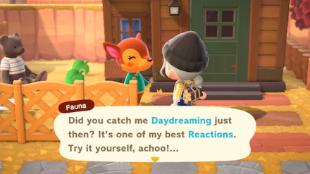 ACNH - Learn Daydreaing Reaction from Fauna.png