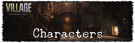 Resident Evil 8 Characters Partials Banner
