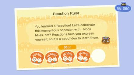 ACNH - Nook Miles Rewards - Reaction Ruler.png