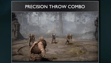 GoW - Precision Throw Combo