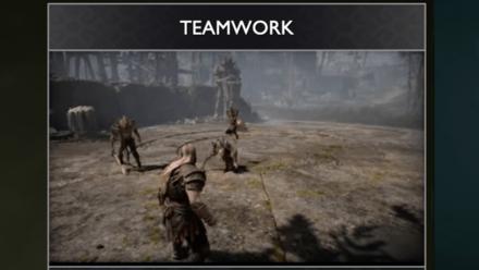 GoW - Teamwork