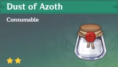 How to Get Dust of Azoth and Effects