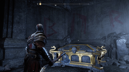 GoW - Inside the Mountain Chest 1