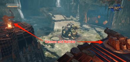 Cannon and Ballista Practice