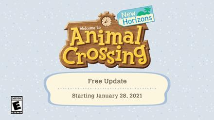 Animal Crossing New Horizons (ACNH) January Update Summary