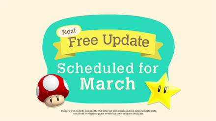 ACNH - March Free Update