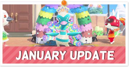ACNH - January Update