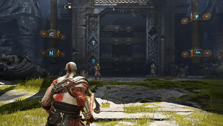 GoW - Veithurgard Puzzle Gate