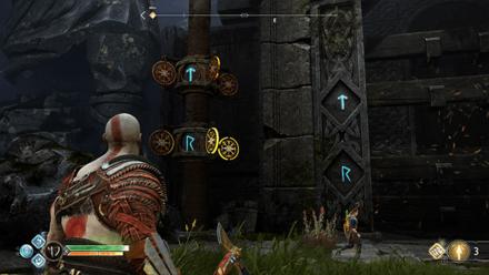 GoW - Veithurgard Gate Left Side Runes