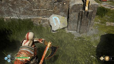 GoW - Veithurgard Gate N Rune
