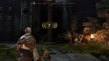 GoW - Veithurgard Gate F Rune