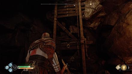 GoW - Ledge Leading to the Dragon