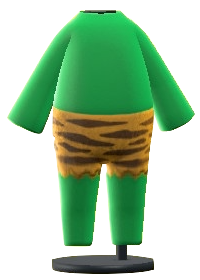 The Green version of Ogre Costume