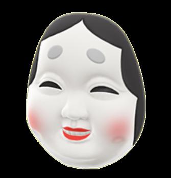 Okame Mask Image