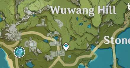 Genshin - Wealth in Liyue Wuwang Hill