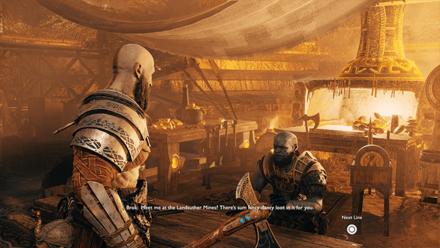 GoW - Deus Ex Malachite Favor Talk to Brok