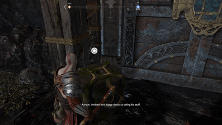 GoW - Deus Ex Malachite Favor Entry Stone