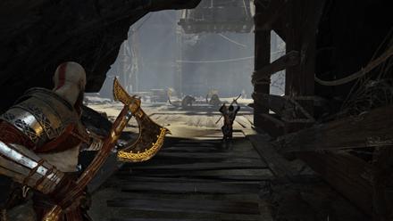 GoW - Deus Ex Malachite Favor Tatzelwurms Entrance